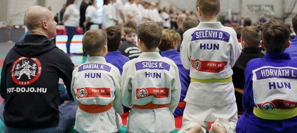 Kedvcsináló judo szakosztályunkhoz