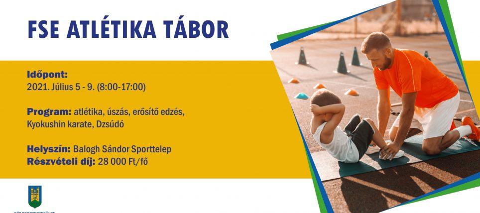 Atlétika sporttábor