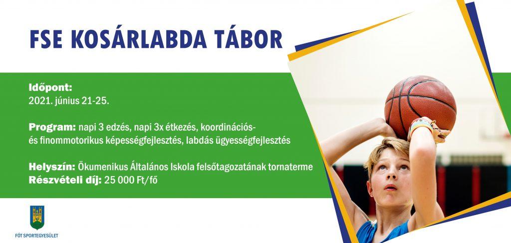 FSE Kosárlabda tábor