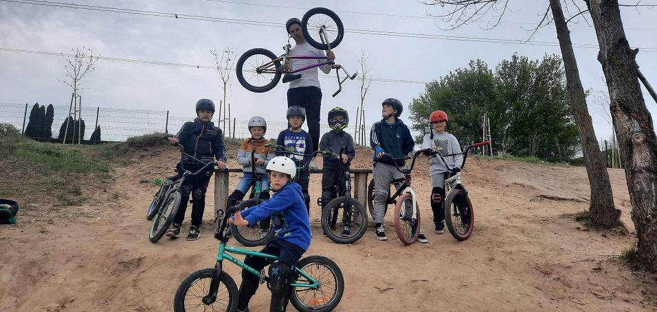 Az egyesületünk új szakosztálya:BMX