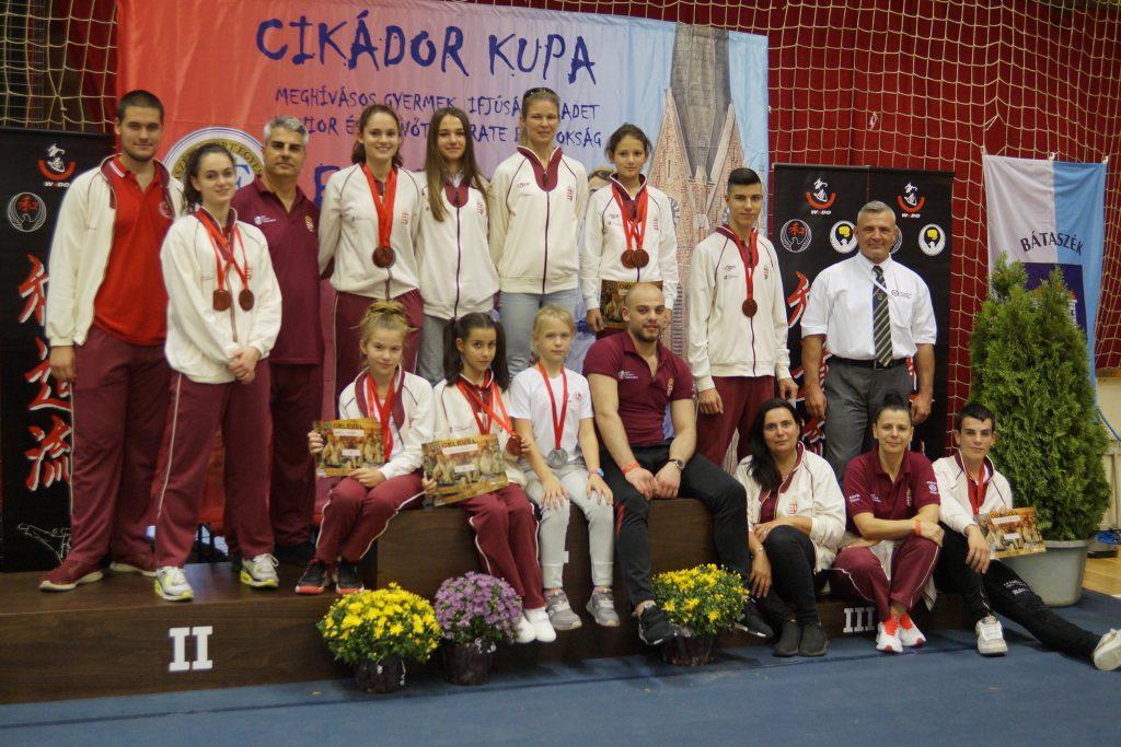 Nagyszerű eredmények a szekszárdi Karate versenyen